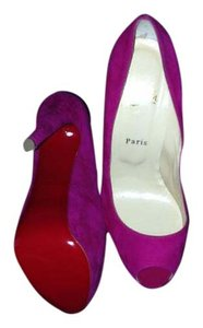 Christian Louboutin Red Bottoms High Heels Highness Fuschia Pink Pumps