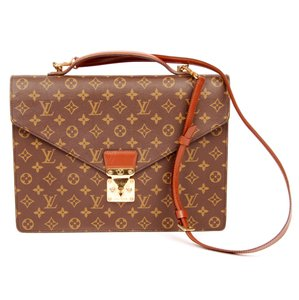 Louis Vuitton Monogram Canvas Laptop Bag