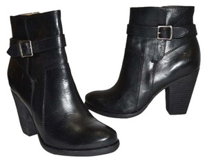 Frye BLACK LEATHER Boots