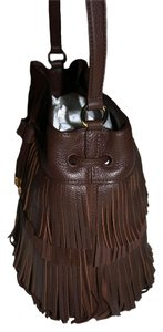Ralph Lauren Boho Fringed Bohemian Shoulder Bag