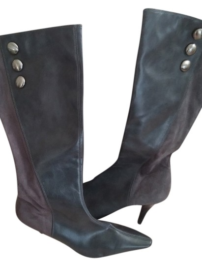Preload https://item1.tradesy.com/images/predictions-grey-leather-in-front-grey-suede-on-back-of-bootsbooties-size-us-9-regular-m-b-2031645-0-0.jpg?width=440&height=440