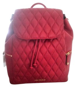 Vera Bradley Leather Quilted Handsfree Backpack
