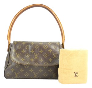 Louis Vuitton Shoulder Satchel in Monogram
