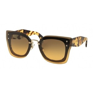 Miu Miu New With Case Miu Miu sunglasses Top Black/Light Havana NAI0A3