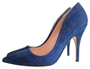 Kate Spade Licorice Denim Pumps