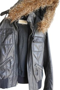 Michael Kors Leather Leather Leather Jacket