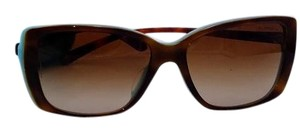 Tiffany & Co. Light Brown Square Eye Sunglasses