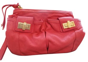 Sabina Red Clutch
