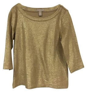 Banana Republic Top gold