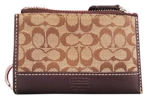 Coach *ships next day* Coach Signature Coin Purse