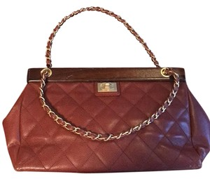 Chanel Classic 2.5 Chain Strap French Satchel in light brown