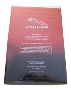 Jaguar JAGUAR Men's Classic Red Eau De Toilette Natural Spray 3.4 oz sealed