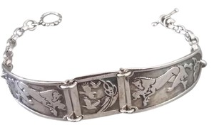 Other Celtic style silver bracelet