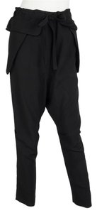 Chlo Baggy Pants Black