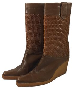 Stuart Weitzman Vintage Weitzman Leather brown Boots