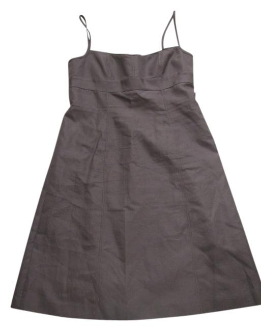 Preload https://item4.tradesy.com/images/jcrew-brown-knee-length-short-casual-dress-size-8-m-2031743-0-0.jpg?width=400&height=650