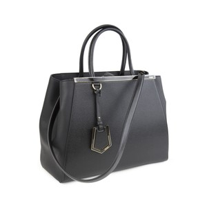 Fendi Regular 2jours Tote in Black