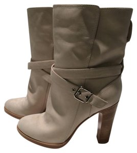 Gianvito Rossi Ivory Boots