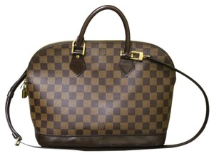 Louis Vuitton Alma Pm Damier Ebene Damier Alma Shoulder Bag