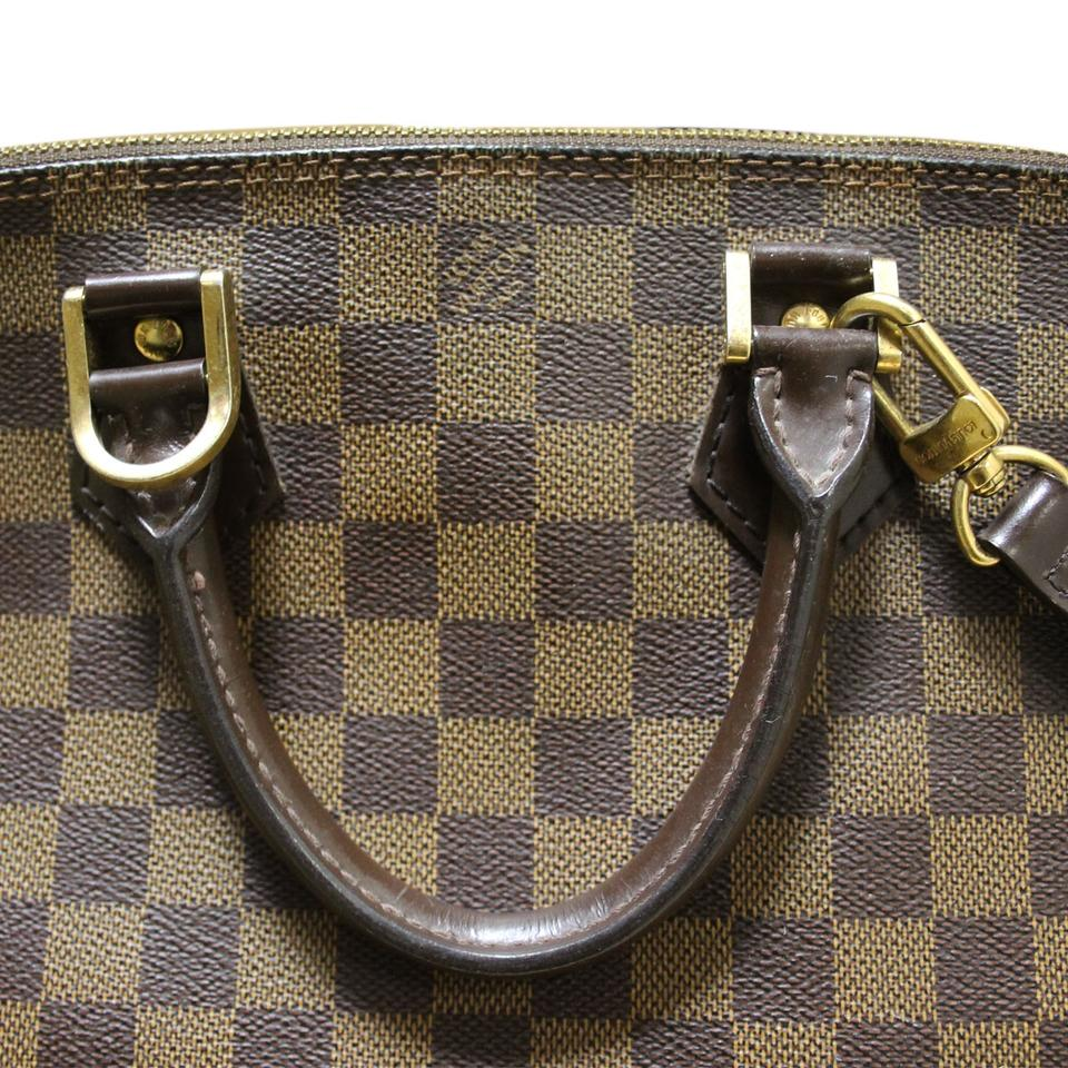 Louis vuitton alma pm damier ebene extra long strap for Louis vuitton miroir alma bag price