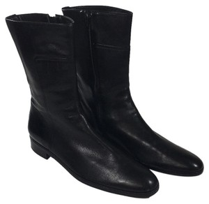 Ellen Tracy Chelsea Equestrian Made In Brazil black Boots