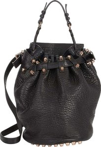 Alexander Wang Leather Bucket Shoulder Bag