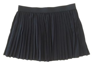 Black Poppy Mini Skirt Black