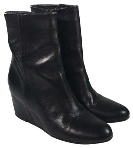 Vince Chelsea Leather black Boots