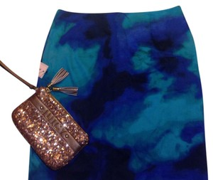 Other Skirt Blue green