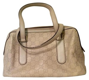 Gucci Satchel in Mystic White
