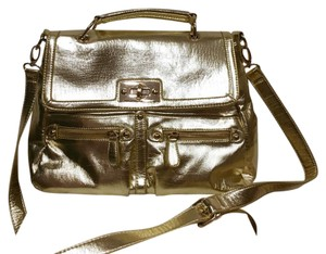 Charming Charlie Satchel in Gold