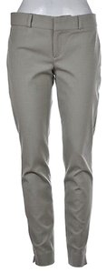 Banana Republic Ankle Casual Trousers Straight Pants Gray