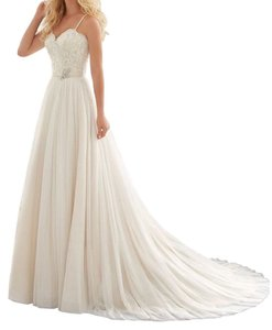 None Wedding Dress