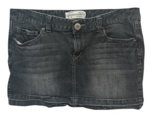Aeropostale Mini Skirt dark gray