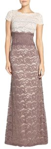 Adrianna Papell Lace Scalloped Dress
