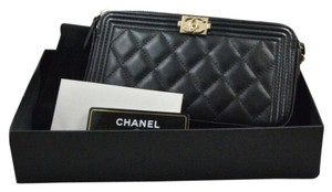 Chanel Woc Chevron Chevron Woc Clutch On Chain Cross Body Bag