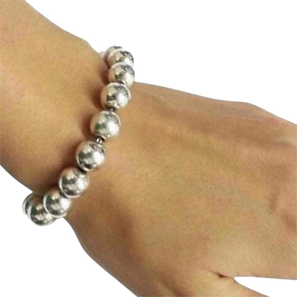 bead vie products en bracelet hematite beaded size la wrist rose and image