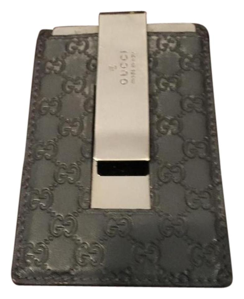 620c05bfd8fa Gucci Gray Men's Money Clip Wallet - Tradesy