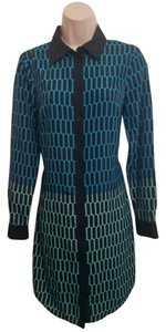 Michael Kors Colorblock Print Dress