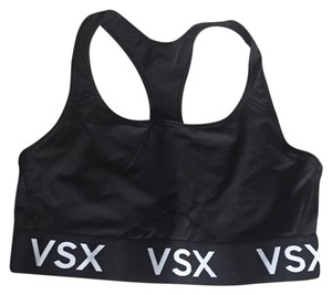 Victoria's Secret VS black racerback sport bra
