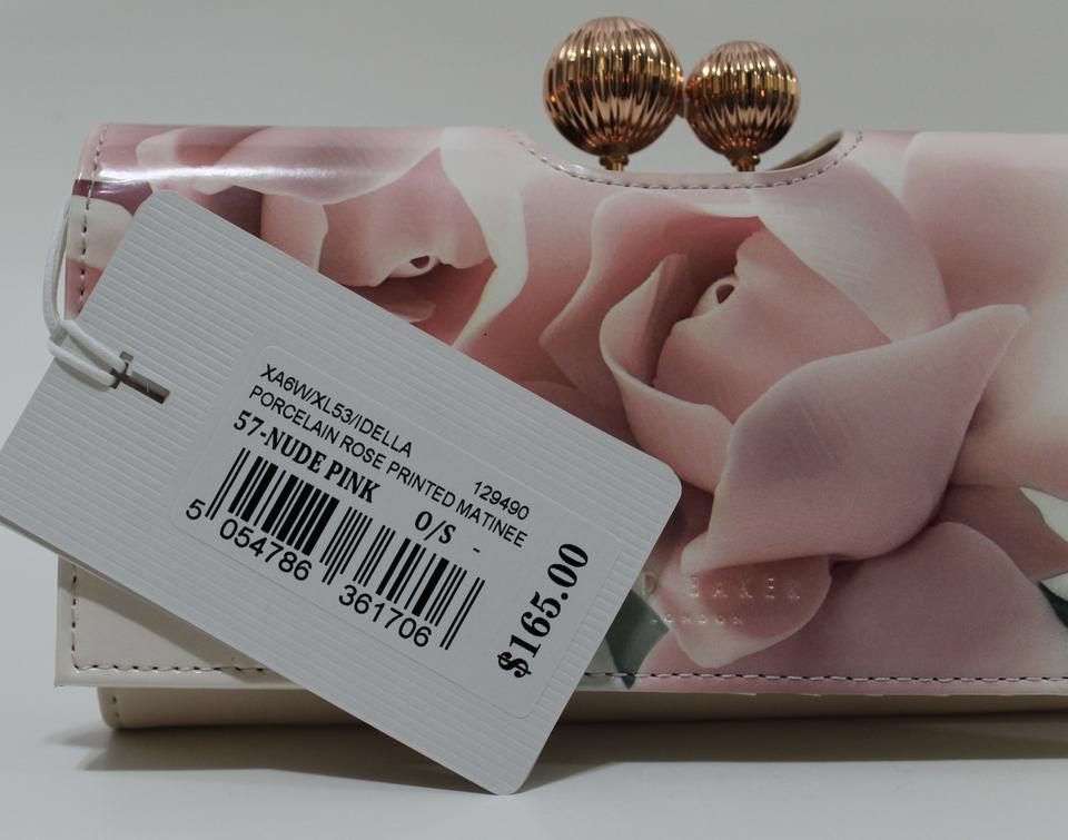 da887bc661bbd Ted Baker Nude Pink London Idella Leather Matinee Wallet - Tradesy