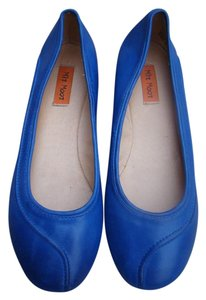 Miz Mooz Raised Design Royal Blue Flats