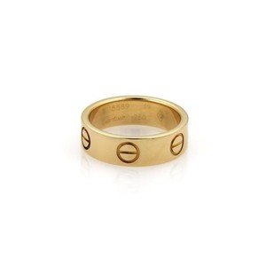 Cartier Love Gold Band Ring