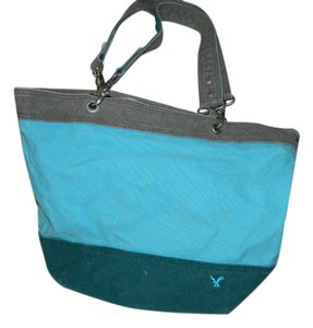 American Eagle Outfitters Canvas Tote in Blue