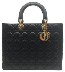 Dior Lady Cannage Quilted Shoulder Bag