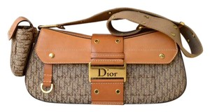 Dior Christian Canvas Shoulder Bag