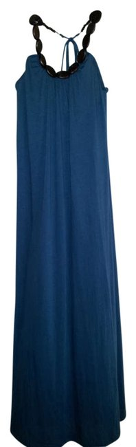 Item - Turquoise Long Night Out Dress Size 6 (S)