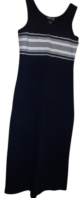 Navy Maxi Dress by Style & Co Sporty