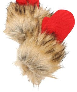 Kate Spade KATE SPADE Fairy Tail red FOX mittens