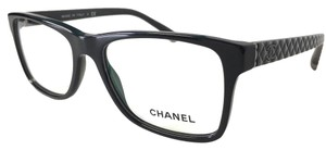 Chanel Black Quilted Eye Glasses